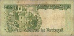 20 Escudos PORTUGAL  1964 P.167b B+