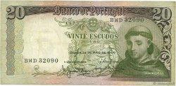 20 Escudos PORTUGAL  1964 P.167b TB+