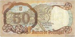 50 Escudos PORTUGAL  1964 P.168 TTB