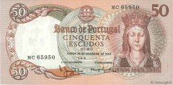 50 Escudos PORTUGAL  1964 P.168 pr.SUP