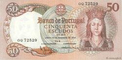 50 Escudos PORTUGAL  1964 P.168 SUP