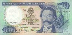 100 Escudos PORTUGAL  1965 P.169a pr.NEUF