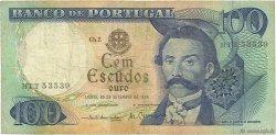 100 Escudos PORTUGAL  1978 P.169b B+