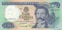 100 Escudos PORTUGAL  1978 P.169b SUP+