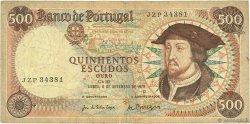 500 Escudos PORTUGAL  1979 P.170b B+