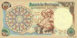 500 Escudos PORTUGAL  1979 P.170b NEUF