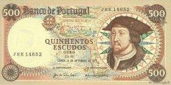 500 Escudos PORTUGAL  1979 P.170b SPL
