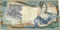 1000 Escudos PORTUGAL  1967 P.172a B