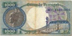 1000 Escudos PORTUGAL  1967 P.172a TB