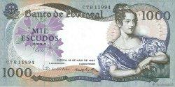 1000 Escudos PORTUGAL  1967 P.172a SUP+