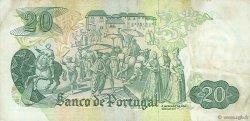 20 Escudos PORTUGAL  1971 P.173 TTB