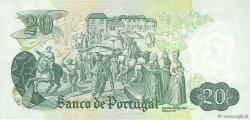 20 Escudos PORTUGAL  1971 P.173 pr.SUP