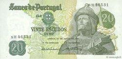 20 Escudos PORTUGAL  1971 P.173 SUP+