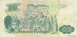 20 Escudos PORTUGAL  1971 P.173 TB