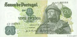 20 Escudos PORTUGAL  1971 P.173 pr.NEUF