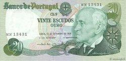 20 Escudos PORTUGAL  1978 P.176a SUP+