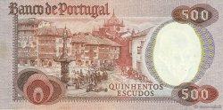 500 Escudos PORTUGAL  1979 P.177 pr.SUP