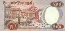 500 Escudos PORTUGAL  1979 P.177 SUP