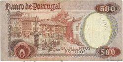 500 Escudos PORTUGAL  1979 P.177 TB
