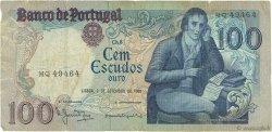 100 Escudos PORTUGAL  1980 P.178a B+