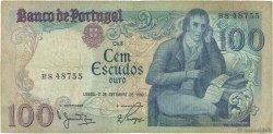 100 Escudos PORTUGAL  1980 P.178a TB