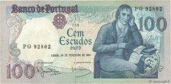 100 Escudos PORTUGAL  1981 P.178b TTB