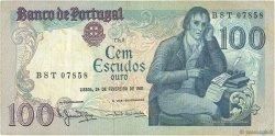 100 Escudos PORTUGAL  1981 P.178b TB+