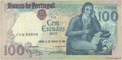 100 Escudos PORTUGAL  1984 P.178c TB+