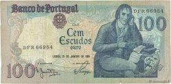 100 Escudos PORTUGAL  1984 P.178c TB