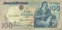 100 Escudos PORTUGAL  1984 P.178c B+