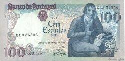 100 Escudos PORTUGAL  1985 P.178d pr.SUP
