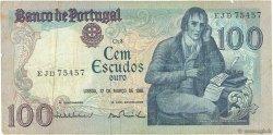 100 Escudos PORTUGAL  1985 P.178d TB+