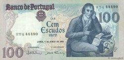 100 Escudos PORTUGAL  1985 P.178e TTB