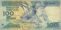 100 Escudos PORTUGAL  1986 P.179a B+