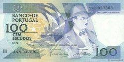 100 Escudos PORTUGAL  1987 P.179b SUP+