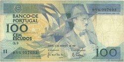 100 Escudos PORTUGAL  1987 P.179d B