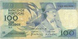 100 Escudos PORTUGAL  1988 P.179e B