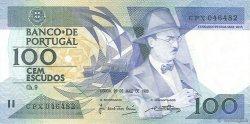 100 Escudos PORTUGAL  1988 P.179e SPL