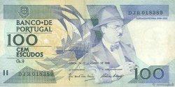 100 Escudos PORTUGAL  1988 P.179f TB+