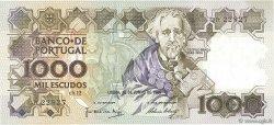 1000 Escudos PORTUGAL  1986 P.181b TTB+