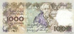 1000 Escudos PORTUGAL  1989 P.181f TTB+