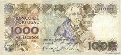 1000 Escudos PORTUGAL  1990 P.181h TTB