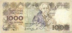 1000 Escudos PORTUGAL  1992 P.181i TB