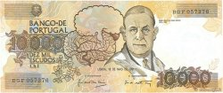 10000 Escudos PORTUGAL  1991 P.185c pr.NEUF