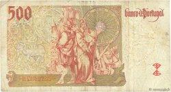 500 Escudos PORTUGAL  1997 P.187a TB