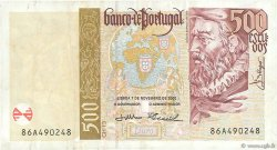 500 Escudos PORTUGAL  2000 P.187c TTB