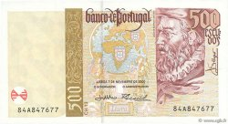 500 Escudos PORTUGAL  2000 P.187c SUP