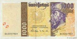 1000 Escudos PORTUGAL  1996 P.188b TTB+