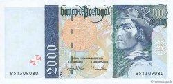 2000 Escudos PORTUGAL  2000 P.189d NEUF