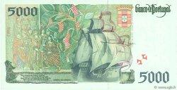 5000 Escudos PORTUGAL  1998 P.190e NEUF